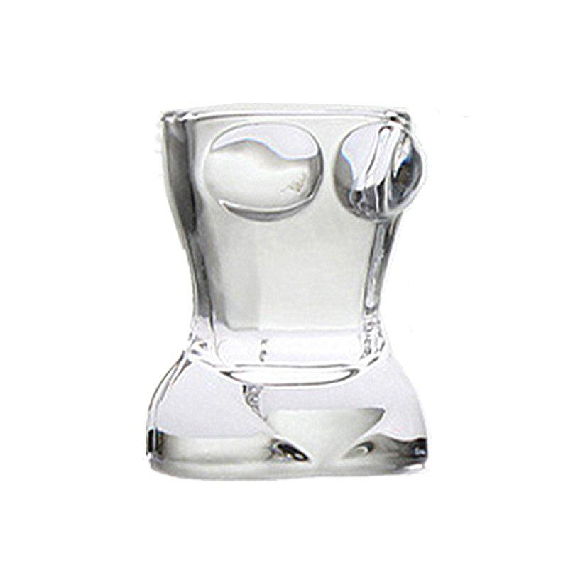 Double Glass Cup Heat-Resistant Cups 2pcs - TRANSPARENT 4X6.2X5.5CM