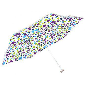 Mini Super Water-Repellency Lightweight Ladies Umbrella - BLUE 16 X 3 X 3 CM