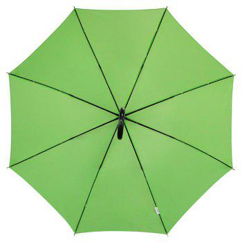 Auto Open Crook Weatherproof Stick Umbrella - GREEN 88 X 6 X 2 CM