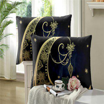 Constellation Totem Series of Three or Four Pieces Bedding Set AS24 - BLACK GOLD FULL