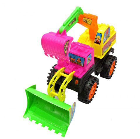 Children Vehicles Toy Bulldozers Earthwork Truck - COLORMIX