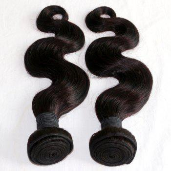 Body Wave 100 Percent Natural Color Malaysian Virgin Hair Weave 4pcs - NATURAL COLOR 24INCH*24INCH*24INCH*24INCH