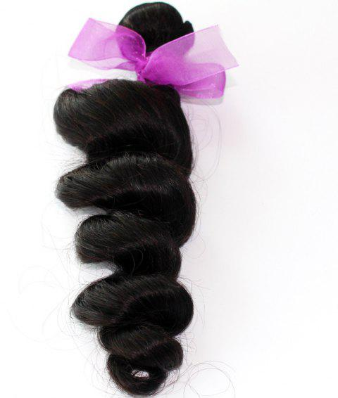 Loose Wave Natural Color 100 Percent Peruvian Human Hair Weave 1pc - NATURAL COLOR 16INCH