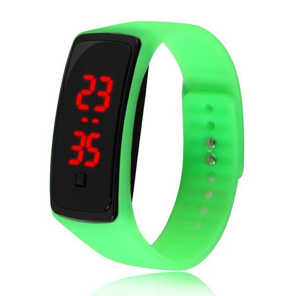 V5 Fashion LED Digital Watch Children Silicone Wristwatch - FERN