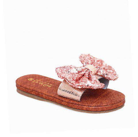 Sandales en cuir Casual Beach Lady - Rose 36