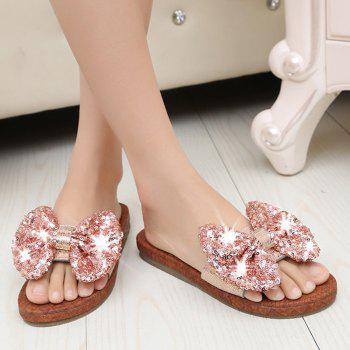 Leather  Casual Beach  Lady Sandals - PINK 40