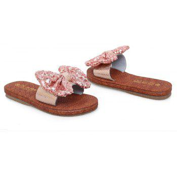 Leather  Casual Beach  Lady Sandals - PINK 37