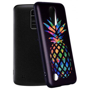 For LG K10 2017 American Color Pineapple Pattern Soft TPU Phone Case - COLOUR