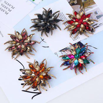 Mode créative populaire Antennae Flower Horse Eye Broche - multicolorcolore