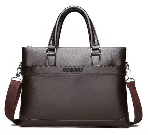 Male New Laptop Computer Handbag - BROWN