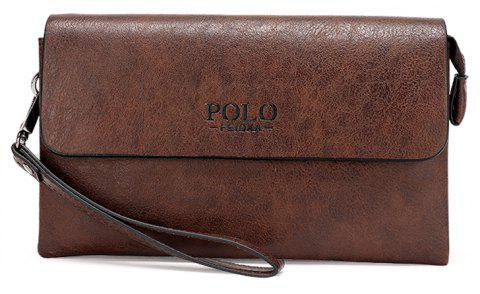 New Fashion Casual Clutch Men - BROWN