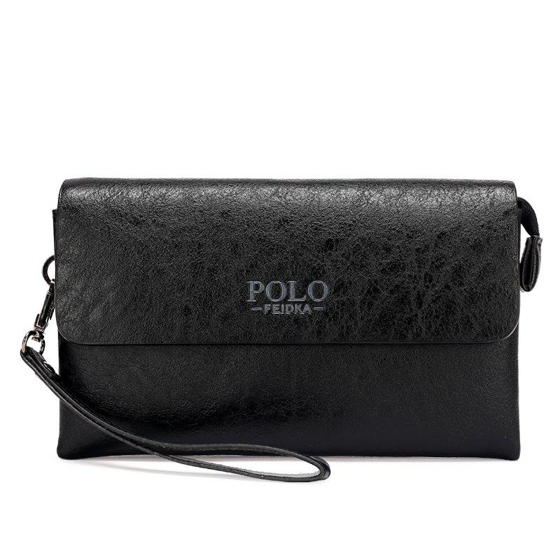 New Fashion Casual Clutch Men - BLACK