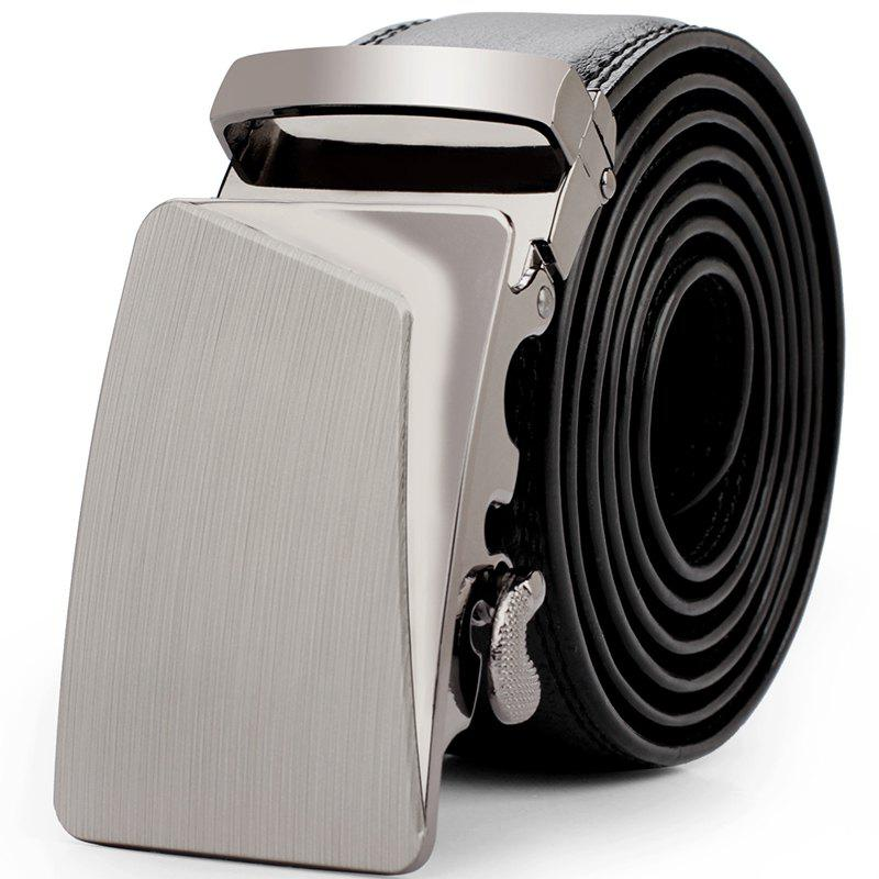 Men's Fashion Belt Business Trend - GUN METAL