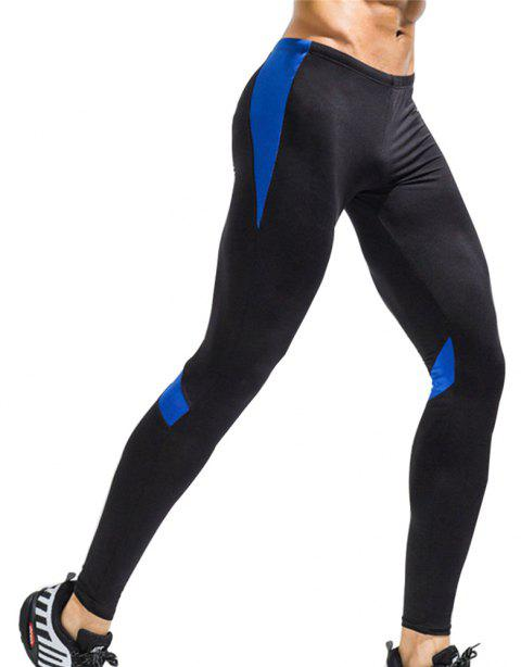 Men's Sports Quick-Drying Fitness Pants - BLUE L