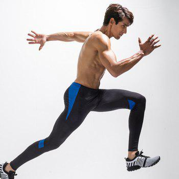 Men's Sports Quick-Drying Fitness Pants - BLUE M