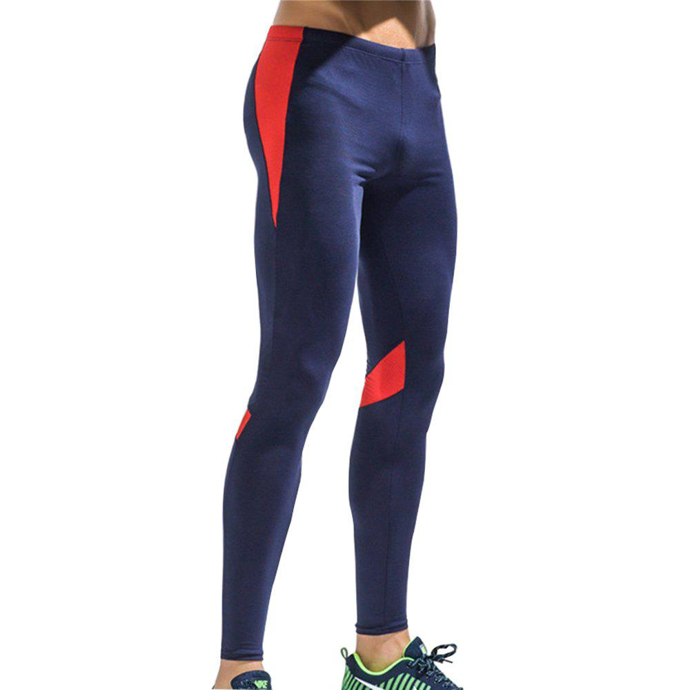 Men's Sports Quick-Drying Fitness Pants - RED M