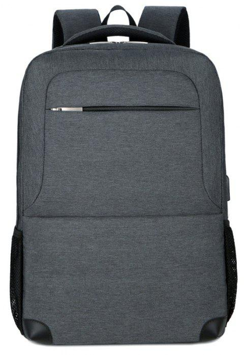 Nouveau sac à dos double Multi Layer Men - Gris