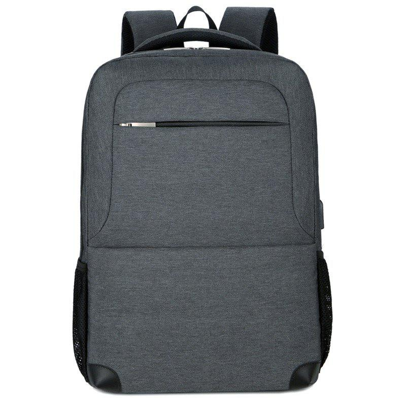 New Multi Layer Men's Double Backpack - GRAY