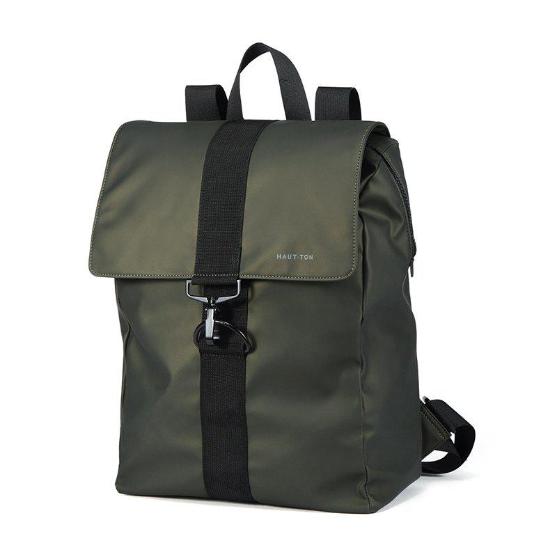 HAUT TON Outdoor Backpack Travel Hiking Camping Rucksack Pack Casual Large College School Daypack Shoulder Book Bags - ARMYGREEN