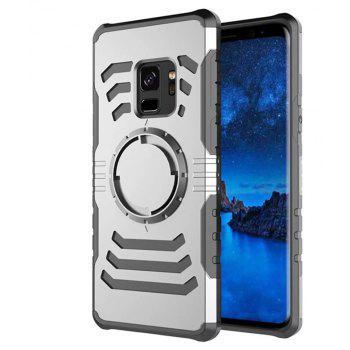 Cover Case  for Samsung Galaxy S9 Plus Your Phone Through The Protective Screen Outdoor Sports - SILVER