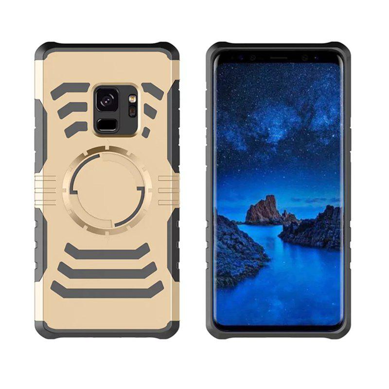 Cover Case  for Samsung Galaxy S9 Plus Your Phone Through The Protective Screen Outdoor Sports - GOLDEN
