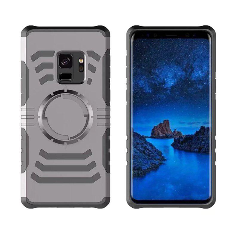 Cover Case  for Samsung Galaxy S9 Plus Your Phone Through The Protective Screen Outdoor Sports - GRAY