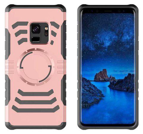 Cover Case  for Samsung Galaxy S9 Your Phone Through The Protective Screen Outdoor Sports - ROSE GOLD