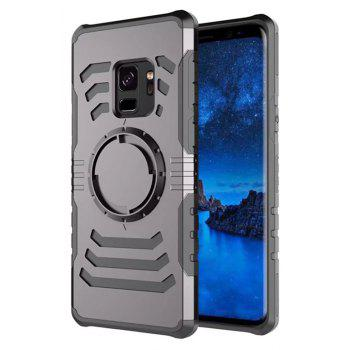Cover Case  for Samsung Galaxy S9 Your Phone Through The Protective Screen Outdoor Sports - GRAY
