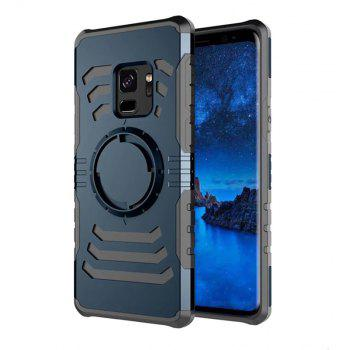 Cover Case  for Samsung Galaxy S9 Your Phone Through The Protective Screen Outdoor Sports - CADETBLUE
