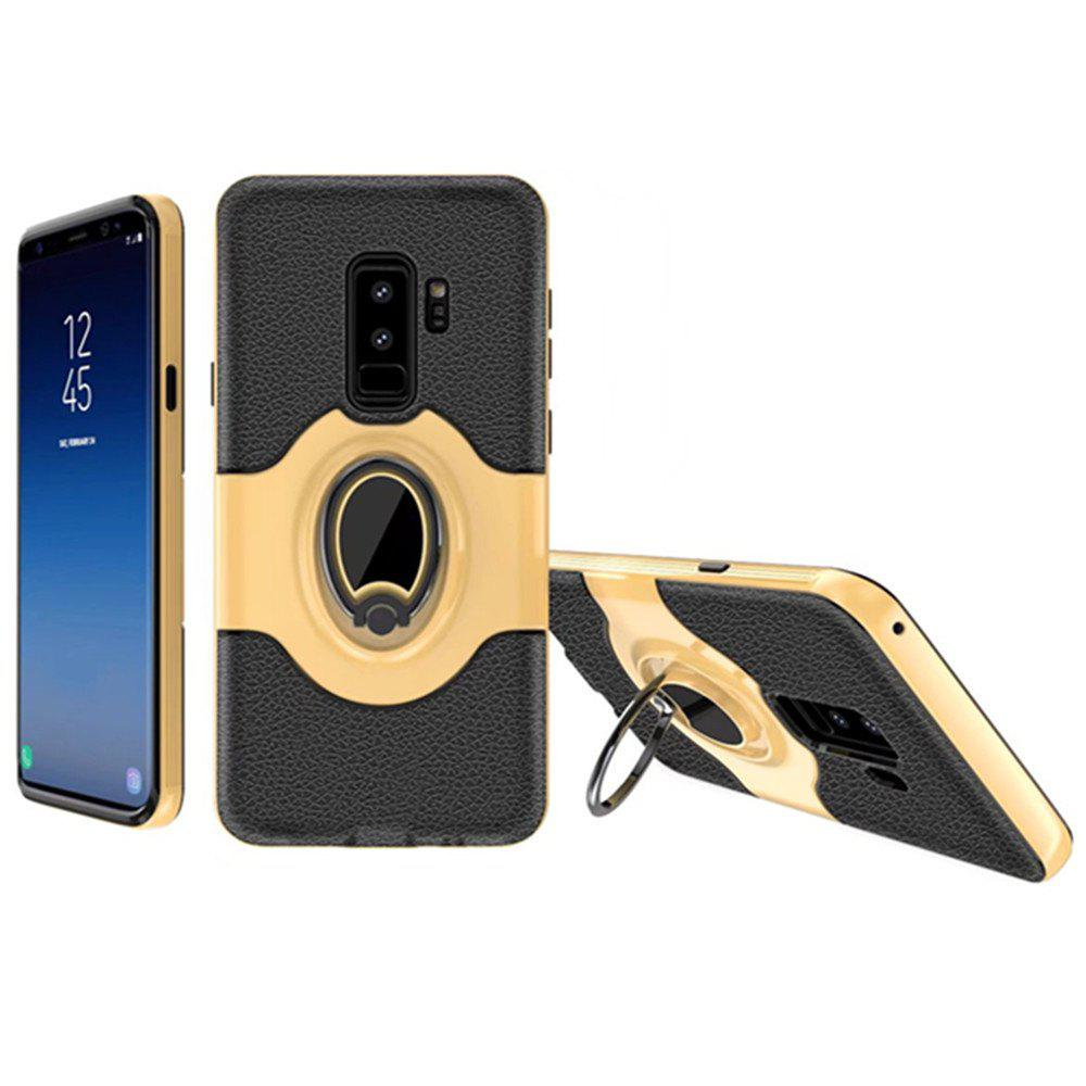 Cover Case for Samsung Galaxy S9 With Shock Absorption Dual Design Phone Ring Holder Anti-scratch Protective - BUTTERCUP