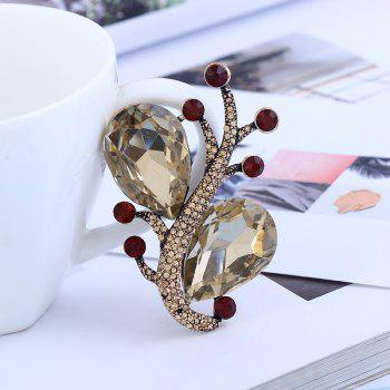 Creative Temperament Fashionable Pin Snail Brooch - CHAMPAGNE