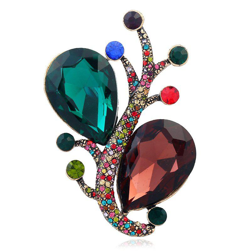 Creative Temperament Fashionable Pin Snail Brooch - COLORMIX
