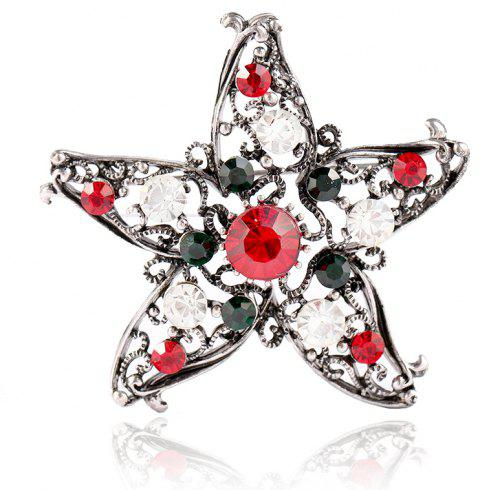 Five Star Brooch for Creative Gifts - COLOUR