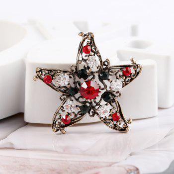 Five Star Brooch for Creative Gifts - COLORMIX