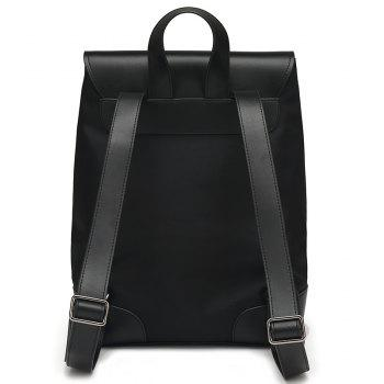 New Casual Fashion Backpack Men - BLACK