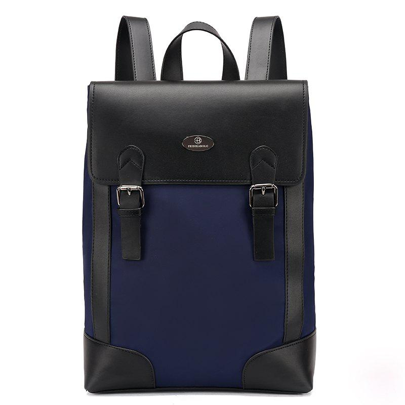 New Casual Fashion Backpack Men - BLUE