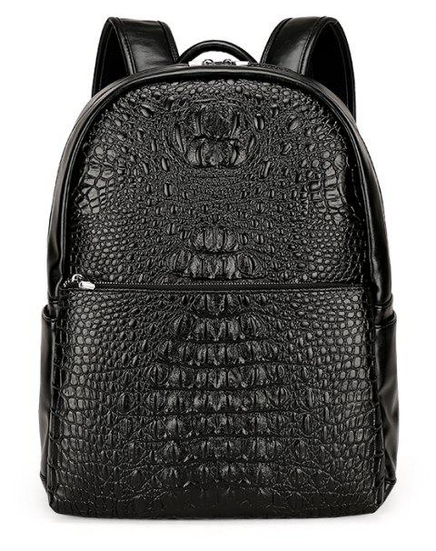 New Casual Wild Backpack Men - BLACK