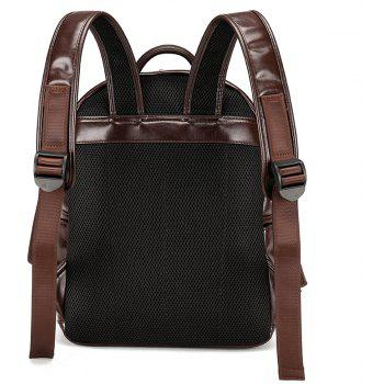 New Wild Fashion Casual Backpack Men - BROWN