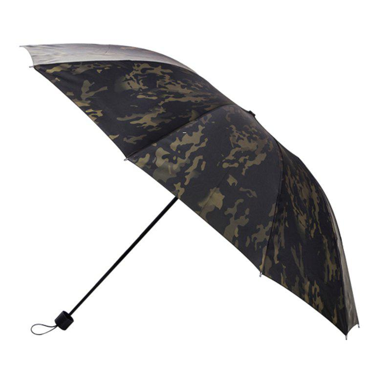 2018 Wind Folding Umbrella Ten Bone Steel Frame 25 Inch Sixty ...