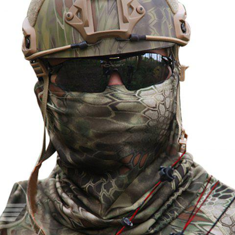 Camouflage Sports Elastic Variety Breathable Protective Concealed Collar Mask for Men and Women - TERRAIN CAMOUFLAGE