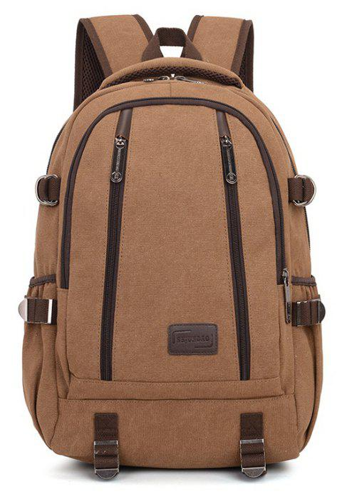 New Lightweight Large Capacity Backpack - BROWN