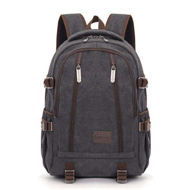 New Lightweight Large Capacity Backpack - BLACK