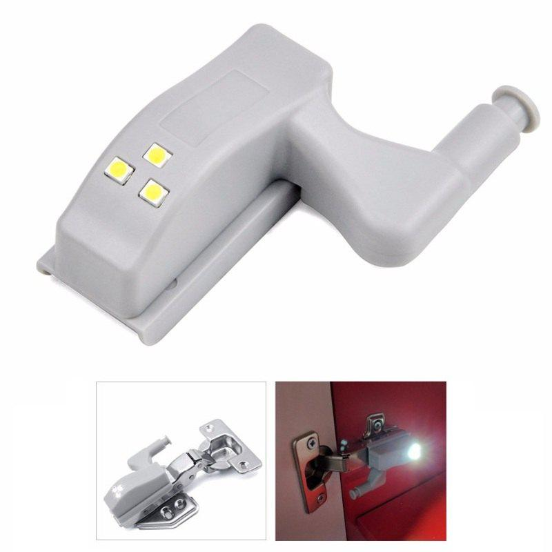 1PC LED Cabinet Hinge Light Induction Cupboard Closet Wardrobe Night Lamp Home Kitchen Bedroom Living Room Lighting