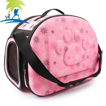 Lovoyager LVC0123 Fashion Folding Portable Pet Goes Out Backpack - PINK L