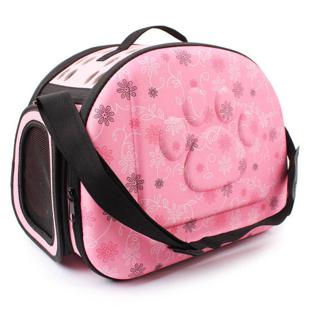 Lovoyager LVC0123 Fashion Folding Portable Pet Goes Out Backpack - PINK S