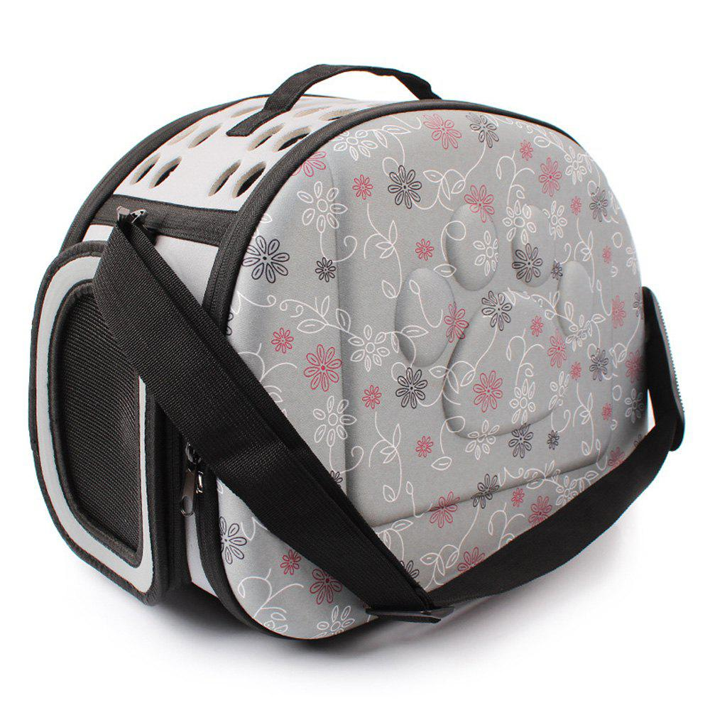 Lovoyager LVC0123 Fashion Folding Portable Pet Goes Out Backpack - GRAY S
