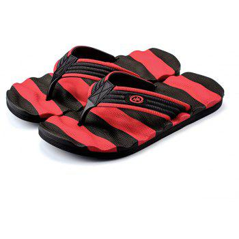 Outdoor Beach Non-slip Slipers for Man - RED 43