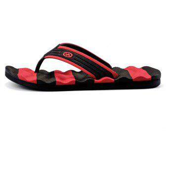 Outdoor Beach Non-slip Slipers for Man - RED 44