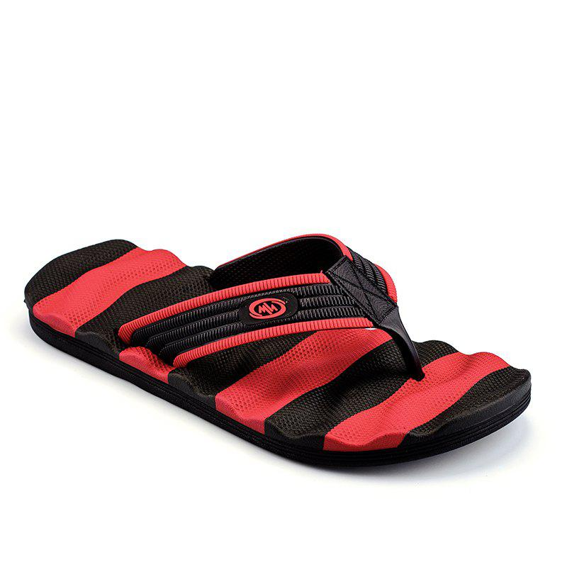 Outdoor Beach Non-slip Slipers for Man - RED 41