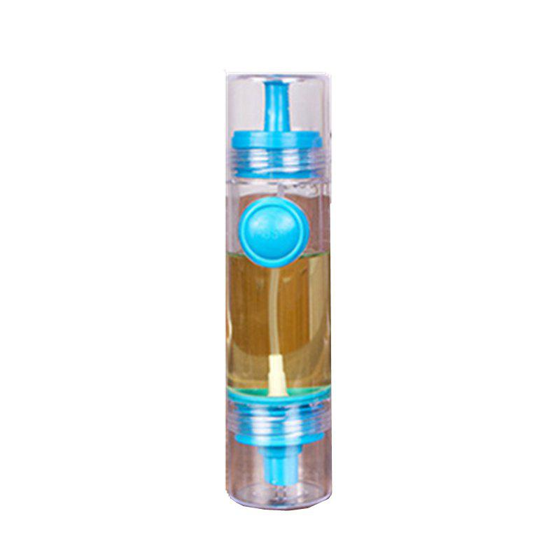 Creative Kitchen Spray Oil Vinegar Sauce Bottle Pressing Type with Nozzle Leakage Control Soy - BLUE